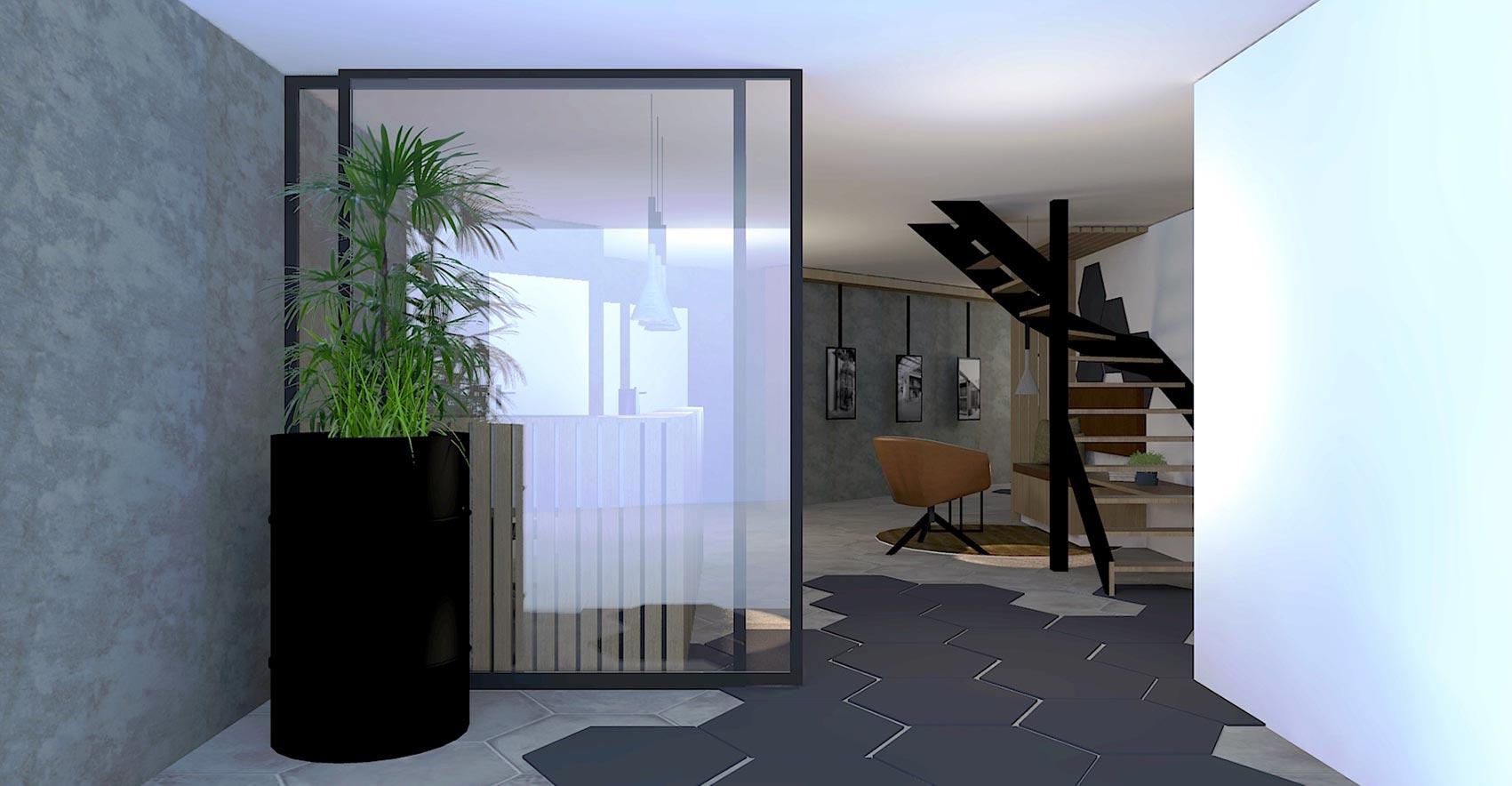 By Thimble Zakelijk Project Hiltra 3D Impressie 2