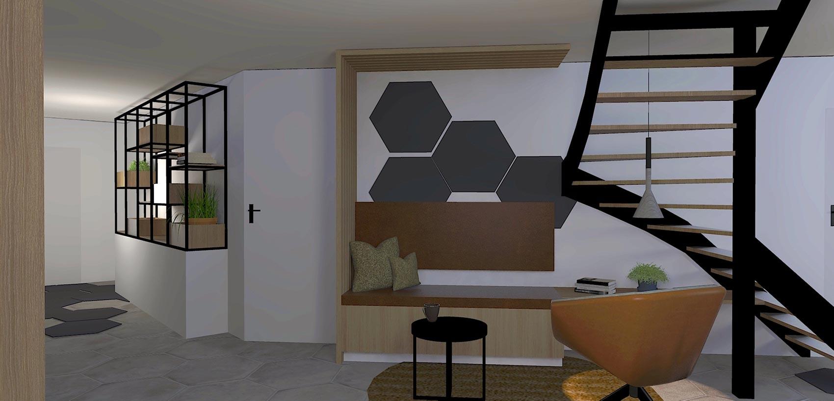 By Thimble Zakelijk Project Hiltra - 3D Impressie